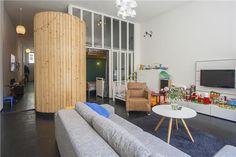 oplossing voor slaapkamer in het midden van woning