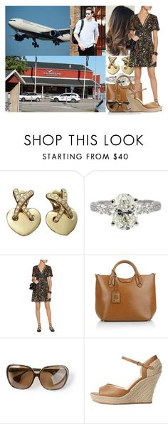 """""""Leaving Kalmar Airport and flying to New York City"""" by swedish-princess ❤ liked on Polyvore featuring Chaumet, Kalmar, Alice + Olivia, Lauren Ralph Lauren, Chrome Hearts and Seychelles"""