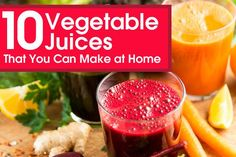 Vegetable juices are the healthiest choices as they transform nutrients quickly than eating them whole. Get to know the healthy vegetable juices you can prefer.
