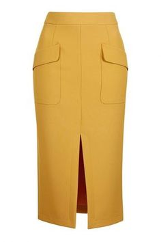 Topshop Split Midi Skirt Source by WhoWhatWear Topshop Tall, Topshop Skirts, Skirt Outfits, Dress Skirt, Midi Skirt, Denim Skirt, Cute Skirts, Short Skirts, Calf Length Skirts