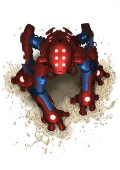 The Amazing Spider-Mecha by VikBogdanovic.deviantart.com on @deviantART
