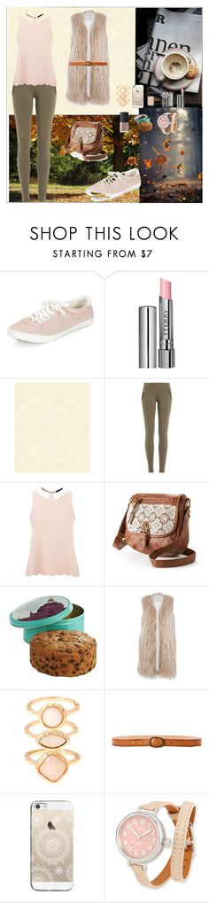 """""""Delicate Autumn"""" by oksana-kolesnyk ❤ liked on Polyvore featuring ファッション, By Terry, Liberty, Emilio Pucci, Mudd, River Island, Monsoon, Linea Pelle, Casetify と Shinola"""