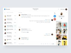 Messenger - Redesign by Goutham #Design Popular #Dribbble #shots