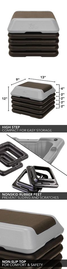 Step Riser Sets 44080: The Step High Step Aerobic Platform Grey New -> BUY IT NOW ONLY: $51.35 on eBay!