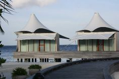 View-of-the-bungaloos-at-Maldives-W-Hotel-Retreat-and-Spa