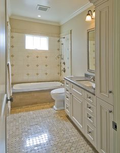 Awesome Websites Style and storage abound in this luxurious master bathroom where a bath accent collection adds extra flair to cabinetry in the bathing and dressin u