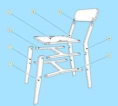 X-CHAIR by pachek, via Behance
