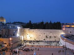 The Western Wall... one day