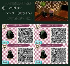 Animal Crossing: New Leaf: ULTIMATE HARRY POTTER OUTFITS. If there are a couple of Harry Potter fans out there I have found a Slytherin Dress to you guys :D With Scarf