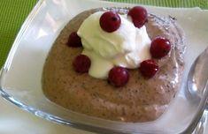MAKOVÝ TERMIX - nízkosacharidový Pancakes, Low Carb, Pudding, Keto, Breakfast, Food, Food Cakes, Morning Coffee, Eten