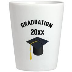 Graduation shot glass put in your year   Cool For Grad Parties