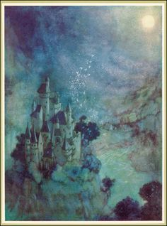 Fairyland - The Bell and Other Poems by Edgar Allan Poe; published by Hodder and Stoughton