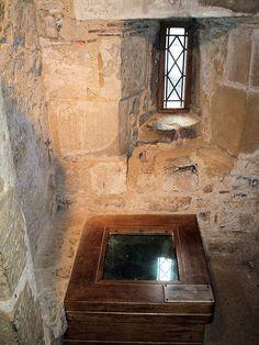castle medieval toilet