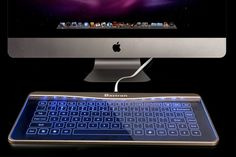 Coolest Keyboard Ever: Turn Your Desk Into The Future with Glass Smart Touch Keyboard (Transparent Keyboard B2)