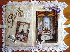 Altered book by Terri Gordon