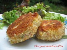 Les gourmandises d'Isa: CROQUETTES DE JAMBON