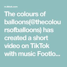 The colours of balloons(@thecoloursofballoons) has created a short video on TikTok with music Footloose. Ecco un numero super richiesto da voi ❤️! #composizionepalloncini #tutorial #imparacontiktok #neiperte #perte #fy #foryou #foryourpage #fyp #viral Custom Pools, Summertime Sadness, London Food, Music Party, Confetti Balloons, Outdoor Projects, Balloon Decorations, Party Themes, Colours