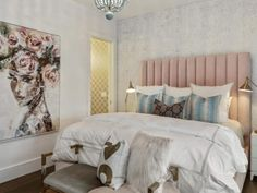 We spoke with nine designers to get their takes on pastels and how to use these classic hues most effectively in bedrooms, dining rooms, and more. Classic Furniture, Custom Furniture, Furniture Design, Beach Inspired Bedroom, Bamboo Dining Chairs, Foyer Flooring, Outdoor Cushions And Pillows, Pastel Colour Palette, Colonial Style Homes