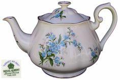 Royal Albert FORGET ME NOT Large 6 Cup Tea Pot c1950 1st Eng
