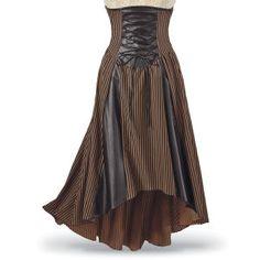 Clara Steampunk Skirt
