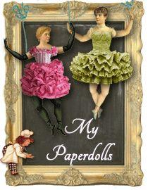 ♥ the digital bakery ♥: Vintage downloadable paper dolls