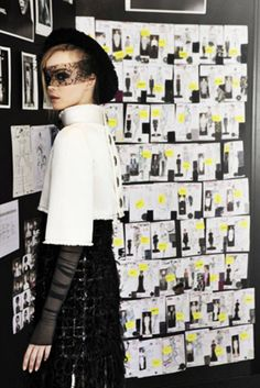 Backstage Chanel Haute Couture Winter 2011