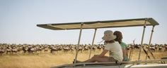 Bring the whole family to Tanzania! The kids will love watching all the animals as they ride atop the open Landcruiser.