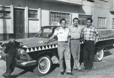 Taxi de la cd. de Néxico 1960