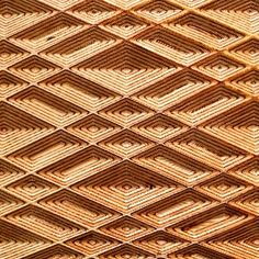 """Have a look at these """"Stunning Geometric Textures Carved Into Plywood Using a CNC Machine"""" for quilting inspiration!"""