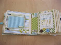 A very good friend of mine is celebrating the birth of her 1st Grandson, so I've made this mini album for her, to capture all those beau...