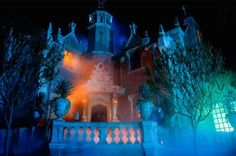VISIT THE HAUNTED MANSION Located in Magic Kingdom Park, Liberty Square is the spooky Haunted Mansion. Embark on a scary tour through a haunted estate, home to ghouls, ghosts and supernatural surprises. While you are inside, climb aboard a Doom Buggy for a journey through a labyrinth of haunted chambers.