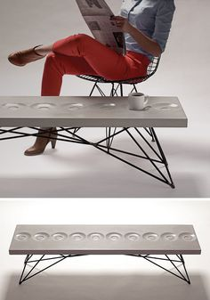 At Least, Not If Hard Goods Has Anything To Say About It. The American  Design Studio Is Specialized In Durable Concrete Furniture That You  Actually Want To ...