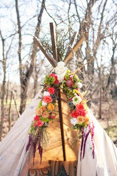 Love the idea of having tipis for kids to play around in but i think I will also have tipis for the guests that want to sleep over.