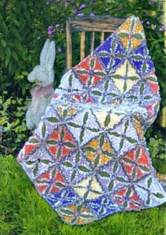 button rag quilt
