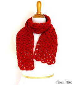 Free Crochet Pattern...Love Notes Scarf!   Fiber Flux...Adventures in Stitching   Bloglovin'
