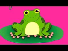 Five Little Speckled Frogs Nursery Rhyme 5 Little Speckled Frogs, Frog Nursery, Frog Theme, Nursery Rhymes Songs, Five Little, Frog And Toad, Elementary Music, Children's Literature, Kids Songs