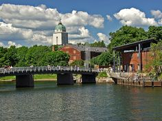 Helsinki Fortress - Suomenlinna ... this is where the ferry arrives from the mainland.