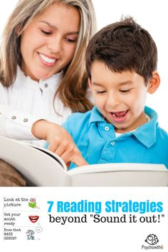 """7 Reading Strategies Beyond """"Sound it Out!"""""""
