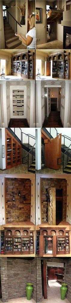 Secret Hidden Passageways In House!