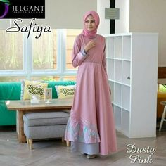 Jb SAFIYA DRESS PR001 ( kain motif tidak selamanya mirip , hanya referensi saja ) Harga 93.000 Bahan balotelly Ukuran all size fit to L  Informasi dan pemesanan hubungi kami SMS/WA +628129936504 atau www.ummigallery.com  Happy shopping   #jilbab #jilbabbaru #jilbabpesta #jilbabmodern #jilbabsyari #jilbabmurah #jilbabonline #hijab #Kerudung #jilbabinstan #Khimar #jilbabterbaru #jilbab2018 #jilbabkeren #jilbabmodis #bajumuslim #gamis #syari #jilbabhitz #jilbabinstan #grosirjilbab Hijab Gown, Hijab Outfit, Modern Hijab Fashion, Islamic Fashion, Girl Fashion, Fashion Dresses, Womens Fashion, Designer Wear, Designer Dresses