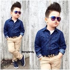 Toddler Boy Fashion, Little Boy Fashion, Toddler Boy Outfits, Young Boys Fashion, Kids Wear Boys, Kids Clothes Boys, Boys Summer Outfits, Little Boy Outfits, Outfits Niños