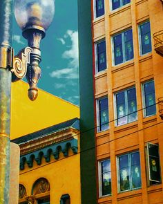 Downtown #elese Colorful Houses, Cn Tower, House Colors, Fine Art Photography, The Neighbourhood, Exterior, Building, Art Photography, The Neighborhood