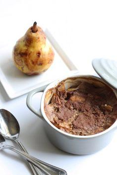 Chai Spiced Pear Baked Steel-Cut Oatmeal | Hummusapien