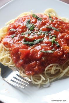 Paltrow's Spaghetti sauce - use the whole wheat pasta and this meal would be Daniel Fast kosher.