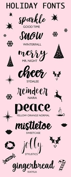 A Bubbly Life: Fonts To Make You Holidays Sparkle silhouette cameo font Fuentes Silhouette, Blog Fonts, Holiday Fonts, Free Christmas Font, Christmas Printables, Christmas Shirts, Christmas Diy, Inkscape Tutorials, Digital Scrapbooking