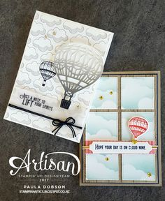 Stampinantics: STAMP TO SHARE - LIFT ME UP BLOG HOP