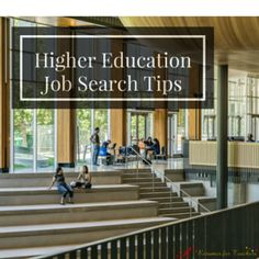 These higher education job search tips will help you to secure a college instructor of university professor position.