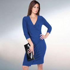 Kleid Martinique royalblau Das Blickfang-Kleid von Frank Lyman - Tailliert und superstretchig