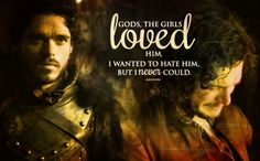 Jon talking about Robb, I always so sad that they never got to see each other again