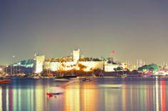 St Peters Castle Night